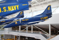 154217 @ KNPA - At the Naval Aviation Museum - by Glenn E. Chatfield