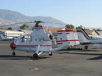 N6134S @ SZP - 1965 Air & Space Mfg., Inc. 18A jump start autogyro, Lycoming O&VO-360 180 Hp - by Doug Robertson