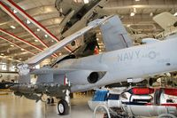 155610 @ KNPA - At the Naval Aviation Museum - by Glenn E. Chatfield