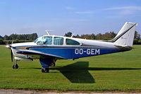 OO-GEM @ EBZH - Beech C33 Debonair [CD-1090] Kiewit-Hasselt~OO 16/08/2002
