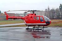 OH-HNS @ EFHF - Bolkow Bo-105S [S-762] Helsinki-Malmi~OH 14/05/2003 - by Ray Barber