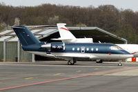 HB-JRV @ LSGG - Canadair 601-3A Challenger [5035] Geneva~HB 11/04/2009