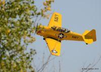 N763V @ EIK - Major Distraction at the Spirit of Flight Center Erie, Colorado. - by Bluedharma