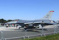 91-0407 @ EDDB - General Dynamics F-16C Fighting Falcon of the USAF at the ILA 2012, Berlin - by Ingo Warnecke