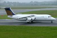 D-AEWQ @ EDDL - BAe 146-300 [E3203] (Eurowings/Lufthansa Regional) Dusseldorf~D 27/05/2006 - by Ray Barber