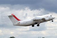 EI-RJY @ EGLC - BAe 146-RJ85 [E2307] (Cityjet) London City~G 15/06/2010