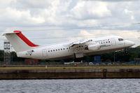 EI-RJZ @ EGLC - BAe 146-RJ85 [E2326] (Cityjet) London City~G 15/06/2010