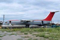 N509XJ @ CYYC - BAe 146-RJ85 [E2321] Calgary-International~C 22/07/2008