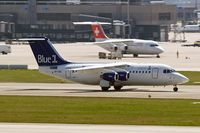 OH-SAO @ LSZH - BAe 146-RJ85 [E2393] (Blue 1) Zurich~HB 07/04/2009