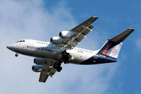 OO-DJK @ EGLL - BAe 146-RJ85 [E2271] (Brussels Airlines) Home~G 02/02/2010