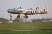 N3774 @ I74 - Departing Urbana for Dayton during the B-25 Gathering and Doolittle Reunion. - by Bob Simmermon