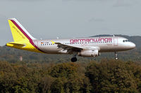 D-AGWR @ EDDK - Germanwings D-AGWR short finals Rwy14L at CGN - by Thomas M. Spitzner