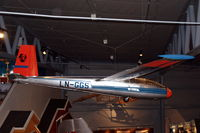 LN-GGS @ ENBO - Let L-13 Blanik all-metal glider in the Norsk Luftfartsmuseum in Bodø, Norway. It was previously used by the Norsk Aero Klubb, but owned by the Air Force. - by Henk van Capelle