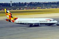D-ADBR @ EDDT - Boeing 737-31S [29100] (Deutsche BA) Berlin-Tegel~D 18/05/1998 - by Ray Barber
