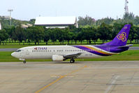 HS-TDG @ VTBD - Boeing 737-4D7 [26614] (Thai Airways) Bangkok Int~HS 30/10/2005 - by Ray Barber