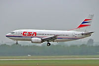 OK-CGJ @ EDDL - Boeing 737-55S [28470] (CSA Czech Airlines) Dusseldorf~D  27/05/2006 - by Ray Barber