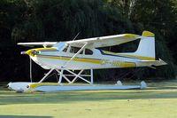 CF-HBM @ 96WI - Cessna 180 [30117] Oshkosh-Lake Winnebago~N 30/07/2008 - by Ray Barber