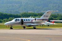 D-ILLL @ LSZA - Cessna CitationJet CJ1 [525-0518] Lugano~HB 21/07/2004 - by Ray Barber