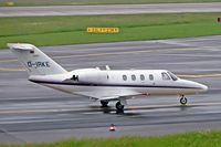 D-IRKE @ EDDL - Cessna CitationJet [525-0123]  Dusseldorf~D 27/05/2006 - by Ray Barber