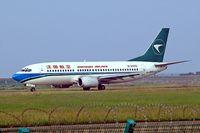 B-2932 @ ZGSZ - Boeing 737-3K9 [25787] (Shenzhen Airlines) Shenzhen-Baoan~B 23/10/2006 - by Ray Barber