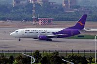 B-2608 @ ZGGG - Boeing 737-36Q [28662] (Deer Air) Guangzhou-Baiyun~B 23/10/2006 - by Ray Barber