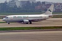 B-3000 @ ZGGG - Boeing 737-36Q [29326] (Deer Air) Guangzhou-Baiyun~B 24/10/2006 - by Ray Barber