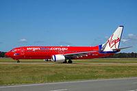 VH-VUG @ YBBN - Boeing 737-8FE [34438] (Virgin Blue) Brisbane-International~VH 18/03/2007 - by Ray Barber