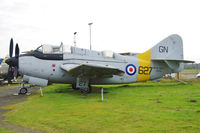 XA508 @ EGBE - Preserved at the Midland Air Museum.