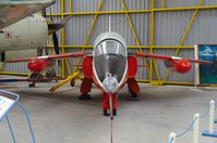 XR534 - Preserved at the Newark Air Museum.