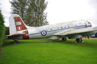 TG517 - Preserved at the Newark Air Museum.