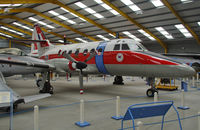 XX492 - Preserved at the Newark Air Museum.