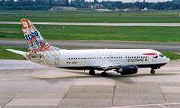 D-ADBN @ EDDL - Boeing 737-31S [29058] (Deutsche BA) Dusseldorf~D 20/05/1998 - by Ray Barber