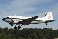 HB-IRJ @ EBZR - Breitling DC3