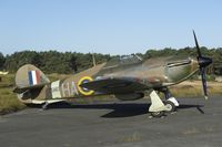 G-HURY @ EBZR - Hawker Hurricane