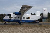G-BEOL @ EBZR - Skyvan Invicta Aviation