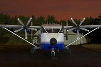 G-BEOL @ EBZR - Invicta Aviation Shorts Skyvan