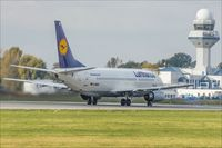 D-ABXS @ EPWA - Boeing 737-330 - by Jerzy Maciaszek