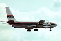 G-AWDG @ EGKK - Boeing 707-138B [17702] (Laker Airways) Gatwick~G 01/07/1974. Taken from a slide.