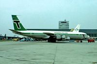 PH-TVK @ EHAM - Boeing 707-329C [20198] (Transavia Airlines) Schiphol~PH 29/08/1976. Taken from a slide.