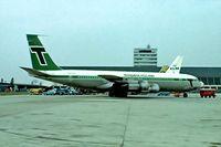 PH-TVK @ EHAM - Boeing 707-329C [20198] (Transavia Airlines) Schiphol~PH 29/08/1976. Taken from a slide.
