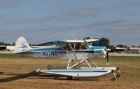 N117RB @ KOSH - Piper/Cub Crafters PA-18-150 - by Mark Pasqualino