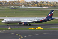 VP-BUM @ EDDL - Aeroflot, Airbus A321-211, CN: 3267, Name: A. Deineka - by Air-Micha