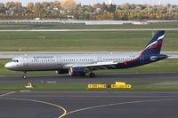 VP-BUM @ EDDL - Aeroflot, Airbus A321-211, CN: 3267, Name: A. Deineka - by Air-Micha
