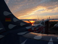 D-EJNB @ EDME - Sunset in Eggenfelden - by Skydive exit