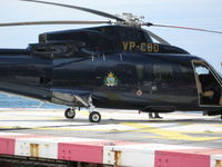 VP-CBD - As seen at heliport Monaco. Coat of arms om the aircraft is that of San Marino. - by JK