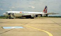 EL-JNS @ LZIB - Boeing 707-323C [18689] (Sky Air Cargo Services) Bratislava~OM 21/06/1996