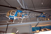 LN-ORW @ ENBO - Bell 47D-1 helicopter, preserved in the Norsk luftfartsmuseum, Bodø, Norway. - by Henk van Capelle