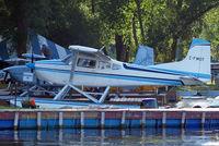 C-FWOT @ 96WI - Cessna A.185E  Skywagon 185 [185-1356] Oshkosh-Lake Winnebago Seaplane Base~N 30/07/2008 - by Ray Barber