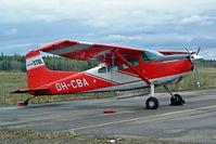 OH-CBA @ EFTP - Cessna A.185E Skywagon [185-1458] Tampere~OH 16/05/2003