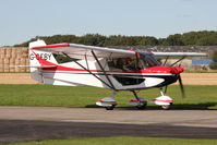 G-CFBY @ EGBR - Skyranger Swift 912S(1). Hibernation Fly-In, The Real Aeroplane Club, Breighton Airfield, October 2012. - by Malcolm Clarke